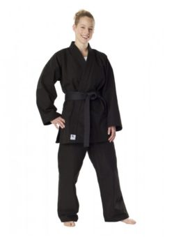 kenpo gi DAX 12OZ de color negro